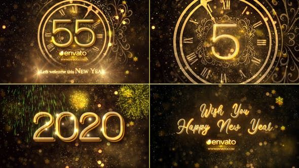 New Year Countdown 2021 By Strokevorkz On Envato Elements New Years Countdown Happy New Year Gif New Year Gif