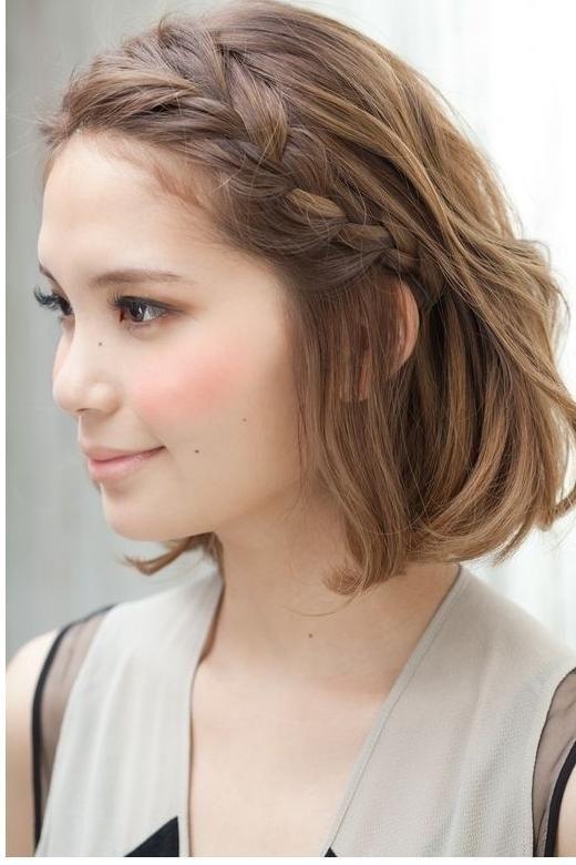 Frisuren fur kurze haare pinterest