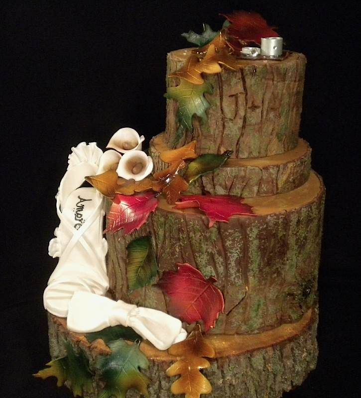 Tree cake by the cake diva...