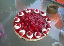 Letní ovocný  dort