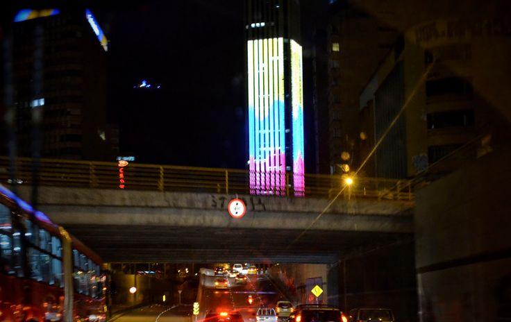Fotoviaje: Bogotá, Colombia. Recorrer de noche la ciudad