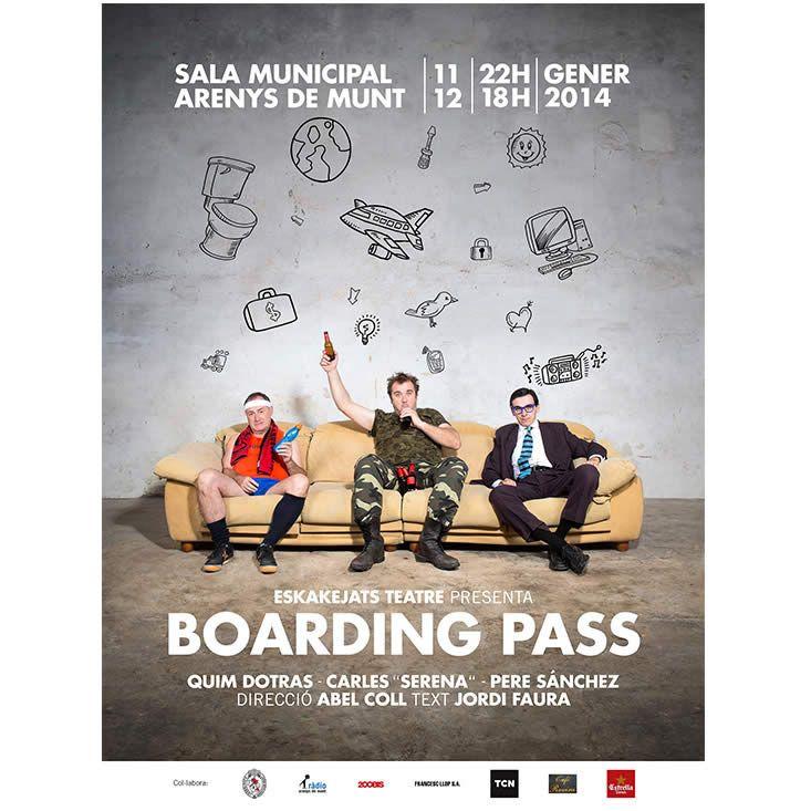 Skakejats Teatre: cartell obra Boarding Pass - photo: Joan Maria Arenaza | Fotograf Calella Barcelona | Fotografo MODA | Fotografia Comercial Profesional