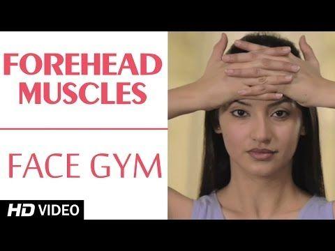 Face Gym - Forehead Muscles HD | Asha Bachanni - YouTube