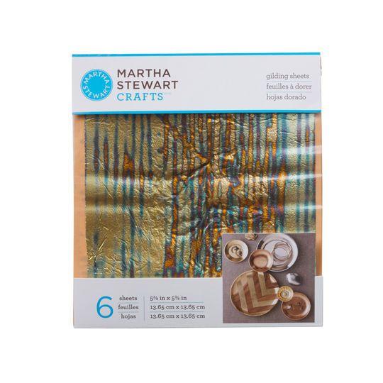Martha Stewart Crafts® Decoupage Gilding Sheets, Striped