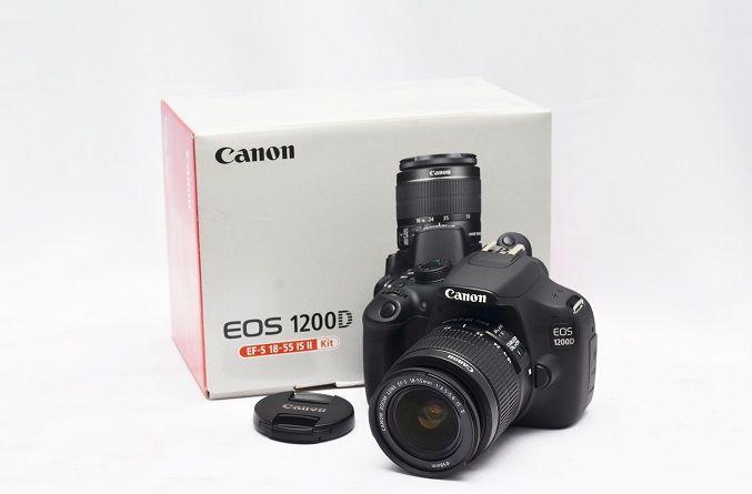 Jual Kamera DSLR Bekas – Kamera Canon EOS 1200D: Kamera Canon EOS 1200D Fullset Harga: Rp. 3.600.000,- (Ready Stok)
