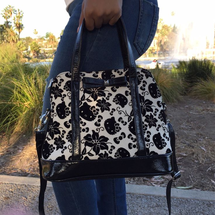Velvet Hello Kitty Handbag