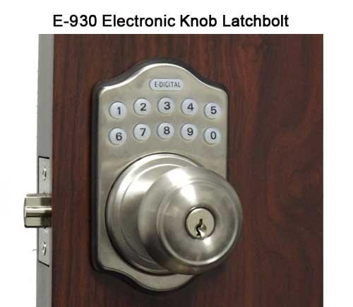 our first electronic lock lockey ez930 electronic door knob latchbolt keypad push