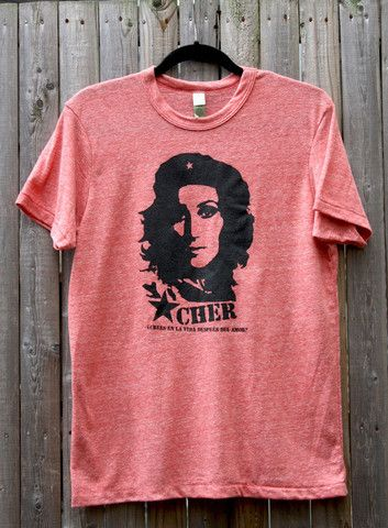 Cher Guevara Tee- ¿Crees en la vida después del amor?  Translation: Do you believe in life after love? HAHAHAHAHAHAHAHAHA