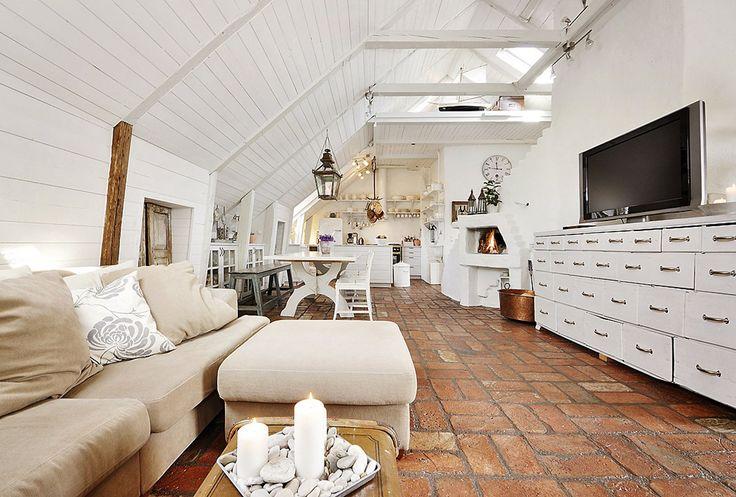 Attic Living Room Design Attic Living Room Remodel For Wooden Roof