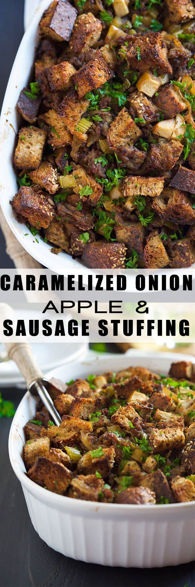 Stuffing, Grains and Sausages on Pinterest
