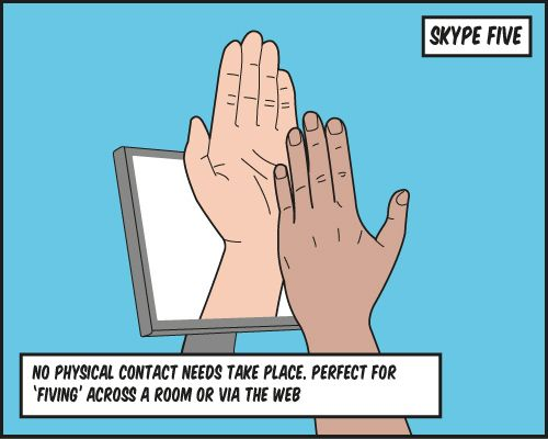 Top 5 High Fives - For National High Five Day Tech and Social