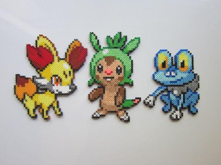 Pokemon Starters No. 6 perler beads by 8-BitBeadsStudio on deviantART