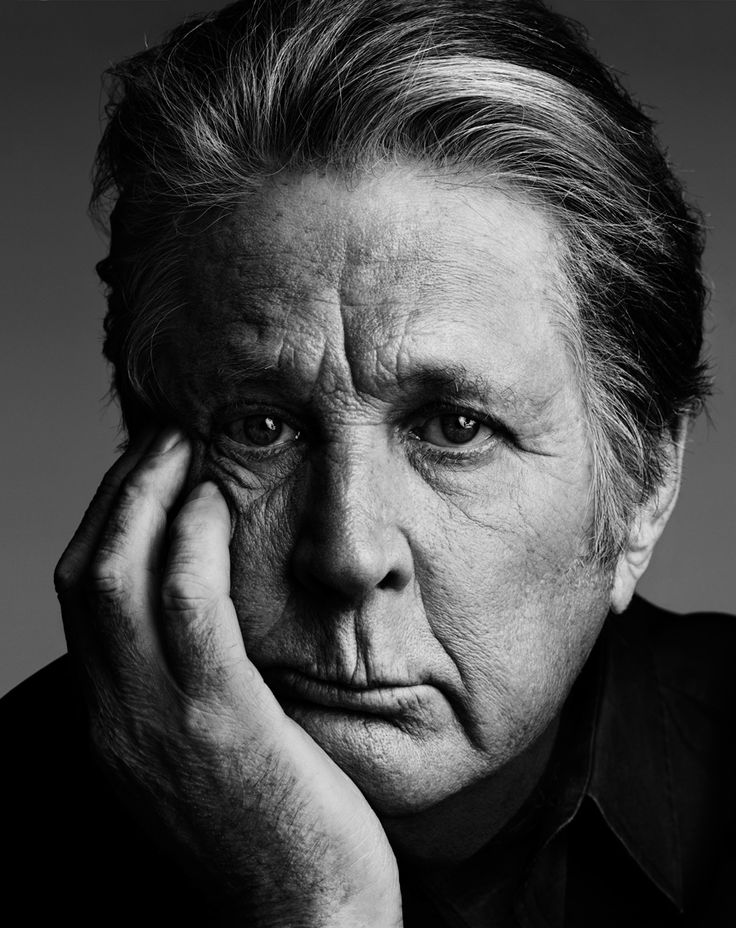 Brian Wilson (1942) - American musician, singer, songwriter, and producer best known for being the multi-tasking leader and co-founder of The Beach Boys. Photo by Hedi Slimane