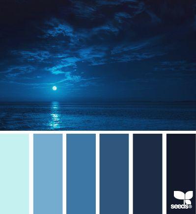 1000 ideas about ocean color palette on pinterest ocean - Color combinations with blue ...