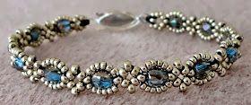 Linda's Crafty Inspirations: Bracelet of the Day: Mingles Tweak #2