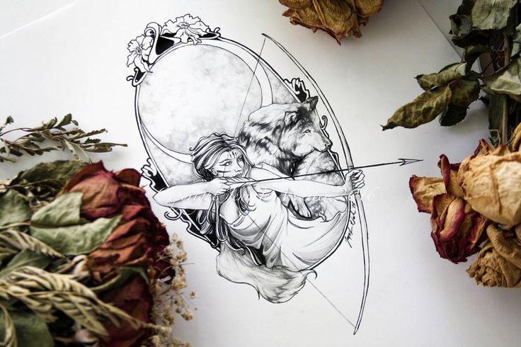 Artemis by JenniferWeiler