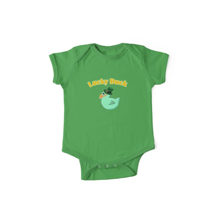 Lucky Duck by KawaiiNMore | Get your baby ready for Saint Patrick's Day in style