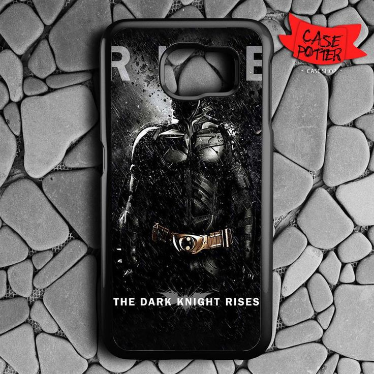 Batman The Dark Knight Rises Samsung Galaxy S7 Black Case
