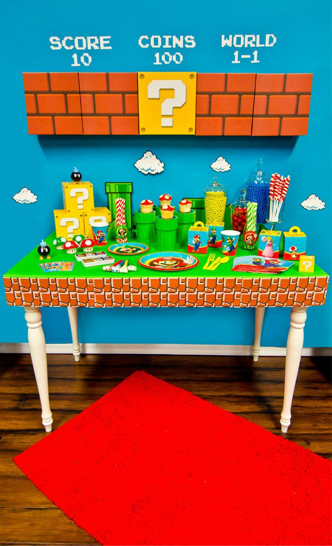 Mario Birthday Party!