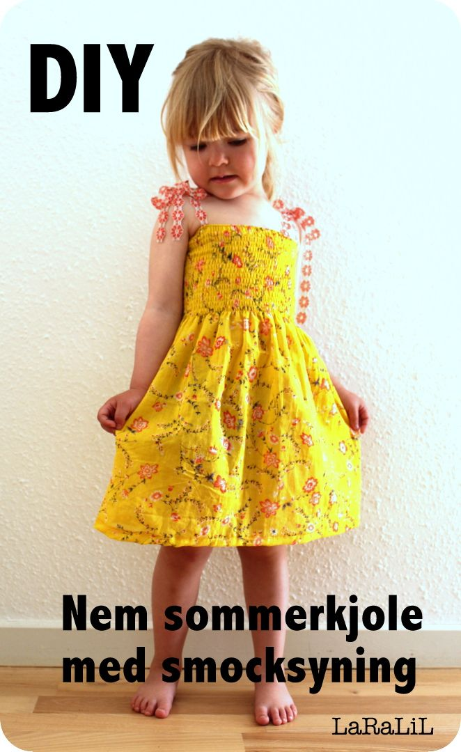 Cute DIY-models for girls clothes