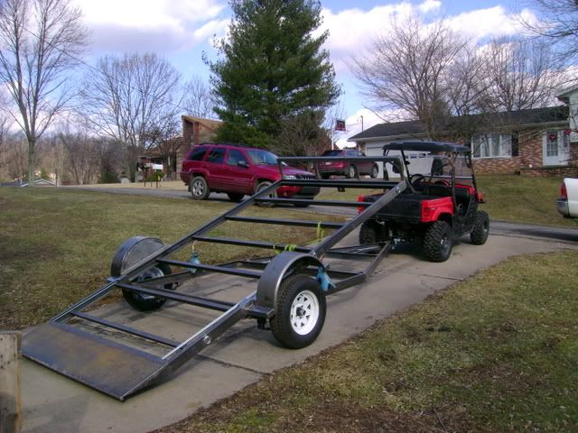 Enclosed Bed Google Search: Picture Of Small Tilt Deck Trailer
