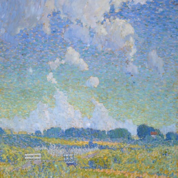 Summer Afternoon, The Prairie, 1921, Lionel LeMoine Fitzgerald ~ Reproductions | 100 Masters
