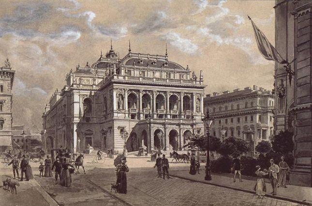 Időutazás 1883-ba, Operaház