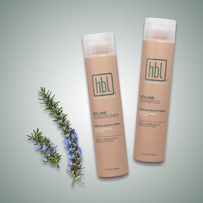 Delicately scented with Rosemary, Volume Shampoo and Conditioner turn every shower into a spa experience