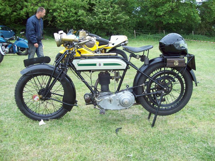 348 Triumph Type H Motorcycle 1915 23 1910s 1920s