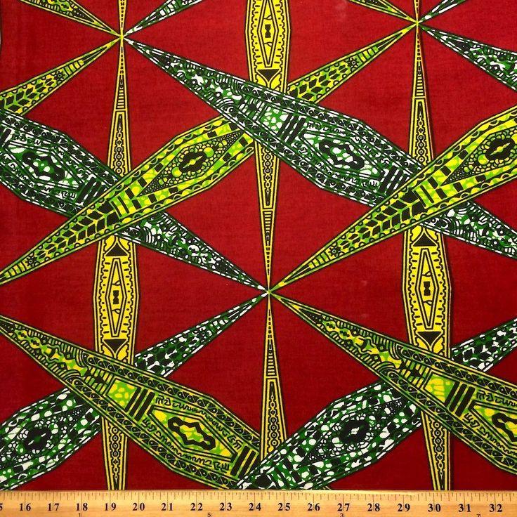 Affix African Print (90111-2)