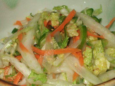 Salada Oriental de Acelga | Saudável | Receitas Gshow