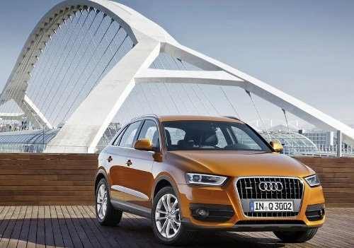 The 2012 Audi Q3 is a premium SUV in a compact-class form. It is sporty, efficient and versatile - a vehicle that is equally comfortable on or off the road