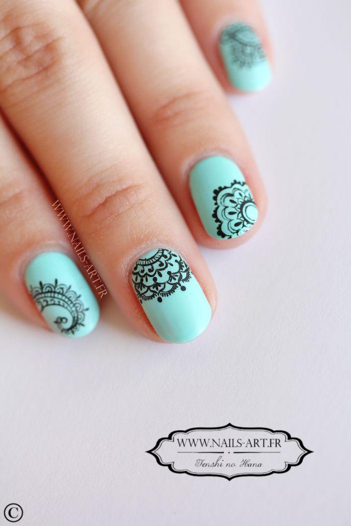 8 best Mandala Nail Art images on Pinterest | Mandalas, Nails ...