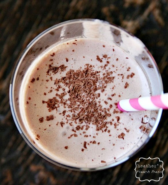 skinny} frozen mexican hot chocolate | Skinny Foods | Pinterest