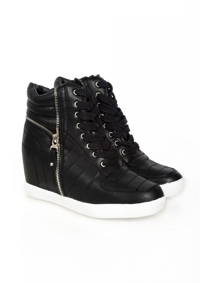 Buy Zip Side Hidden Wedge from Select Fashion online store