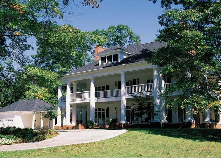 Best 25 southern mansions ideas on pinterest plantation for Southern mansion house plans