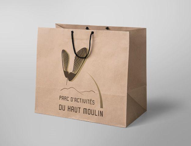 Logo et Sac Parc d'Activités du Haut Moulin Céreste
