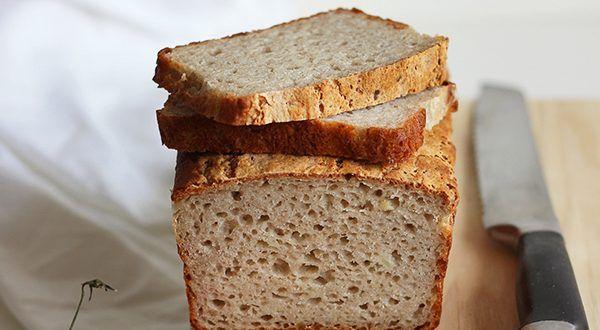 Ziemniaczany chleb bezglutenowy