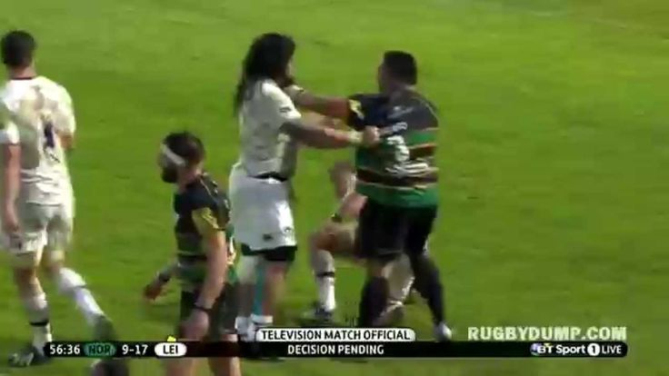 Salesi Ma'afu brutal punch combo on Tom Youngs
