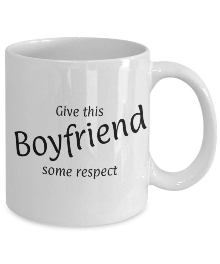 Sweetheart, Partner, Give this Boyfriend some respect, Fun coffee mug, Christmas gift Boyfriend, Boyfriend appreciation mug, Gift for him by expodesigns on Etsy