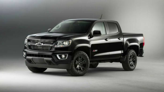 2017 Chevrolet Colorado Z71 Black