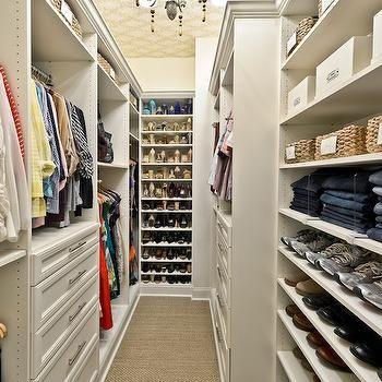 Closet Ideas, Transitional, closet, Organized Living
