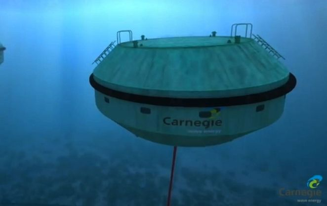 Wave Energy technology produces both clean water and clean energy