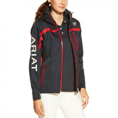Ariat Ladies Team II Navy Waterproof Jacket