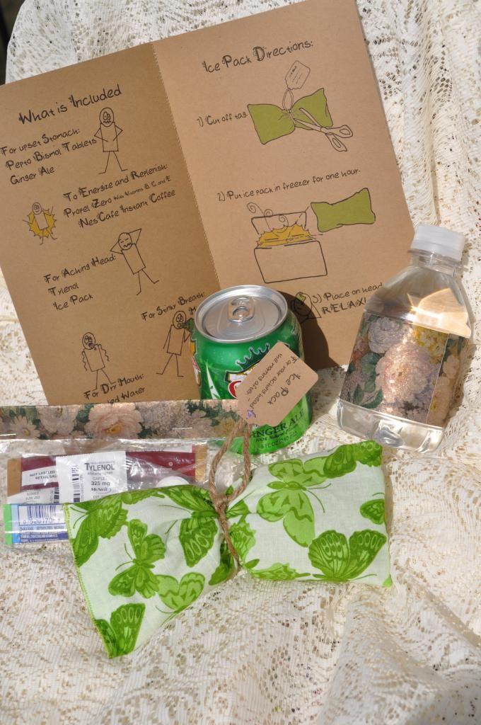My DIY Wedding - Hangover kits!!! Obrigatorio!!