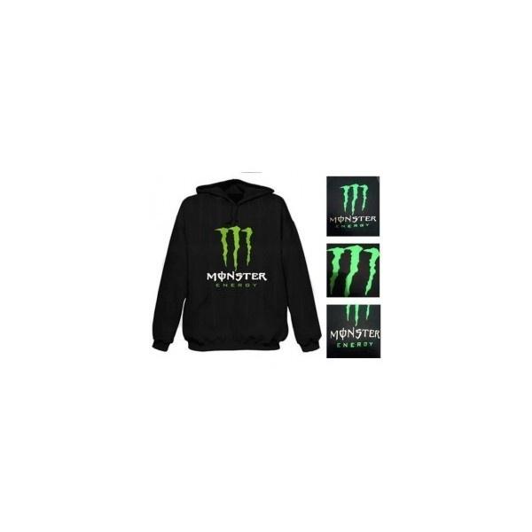 monster energy mens boys classic hoodie hooded sweatshirt. Black Bedroom Furniture Sets. Home Design Ideas