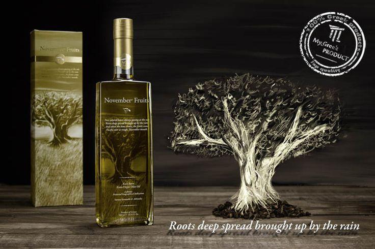 November fruits olive oil box