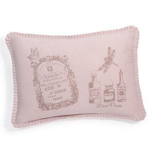 Kissen rosa Parfüm