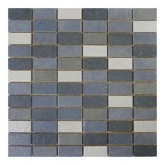 Scala Kesme Black/White Mosaic 25x50mm (Sheetsize 300x300mm)