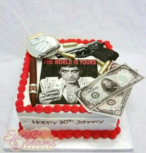 scarface cake ideas